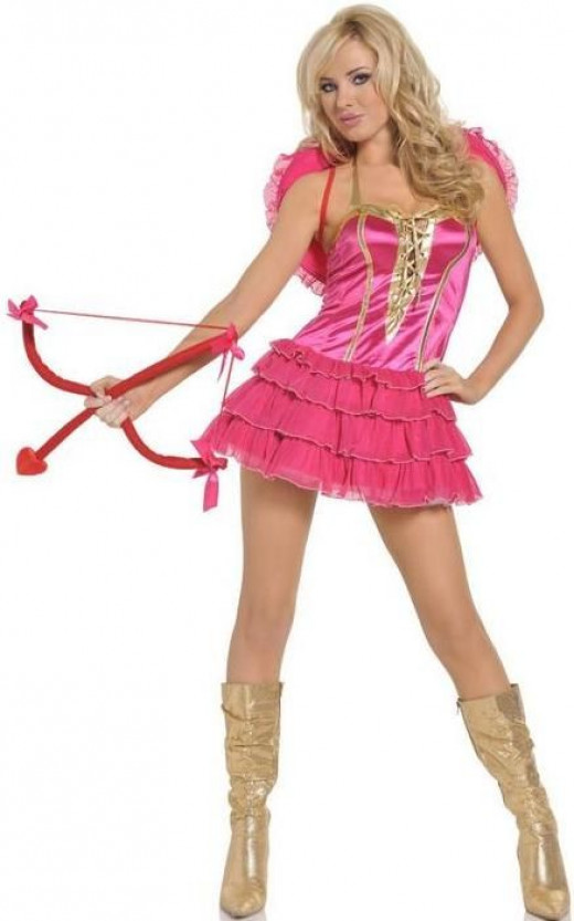 sexy cupid costume for women