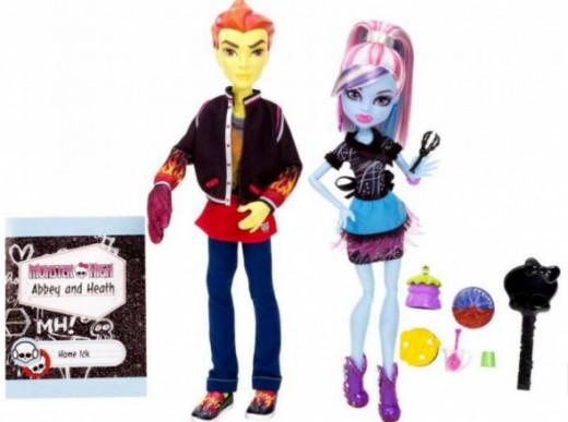 Heath Burns Abbey Bominable Home Ick Doll