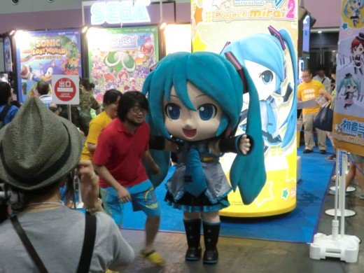 Kickin it with Miku-chan from Project Diva