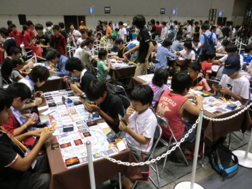 Many still enjoy the Yu-Gi-Oh card games