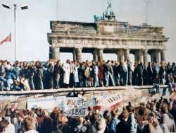 The Berlin Wall Falls 1989