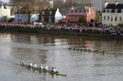 The Finish of the 2007 Boat Race