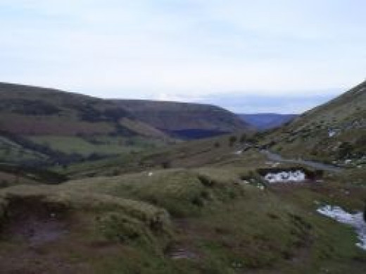 Views Of The Black Mountains