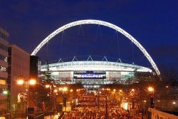 Wembley Stadium - Official Home Of Football In The UK