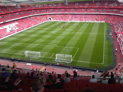 Emirate's Stadium - Home Of Arsenal