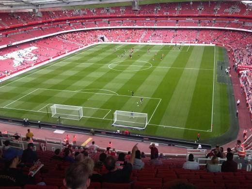 Emirate's Stadium - Home Of Arsenal