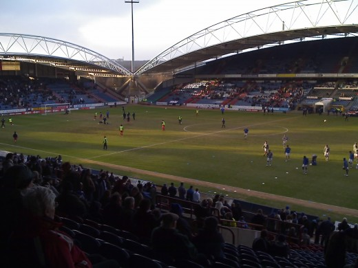 John Smith's Stadium - Huddersfield Town (I have seen games here under various sponsors guises Galpharm/McAlpine)