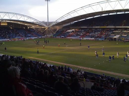 John Smith's Stadium - Huddersfield Town (I have seen games here under various sponsors guises Galpharm/McAlpine)