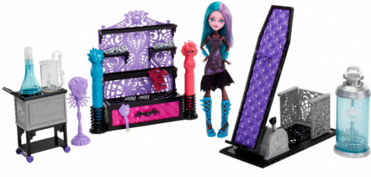 Monster High Create-A-Monster Color-Me-Creepy Chamber