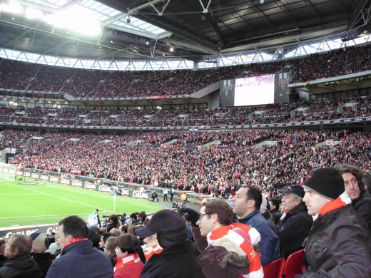 Wembley Stadium - Home of English Football