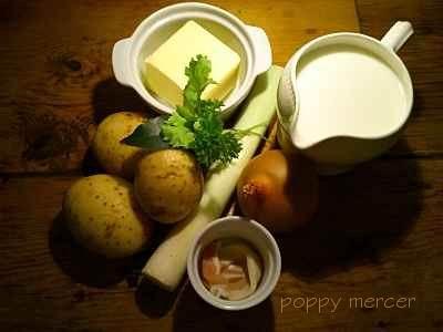 perfect potato and leek soup