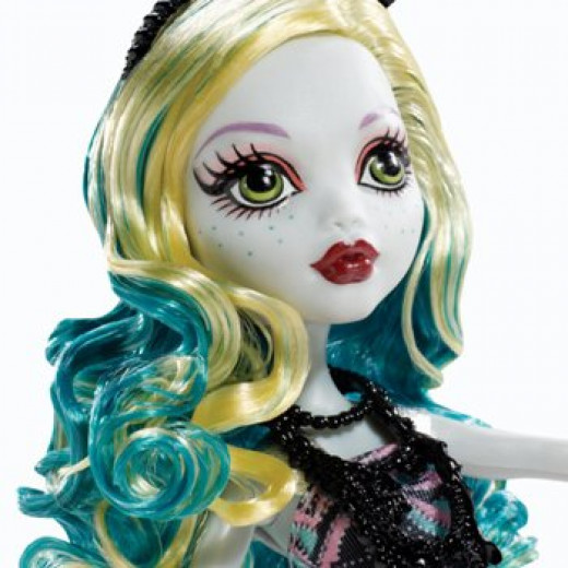 Lagoona Blue Black Carpet Doll