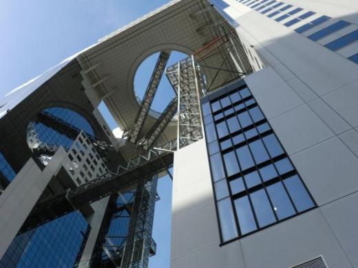 The Umeda Sky Building in Osaka Japan