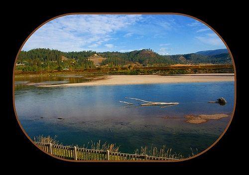 Kootenai River in Bonners Ferry, Idaho