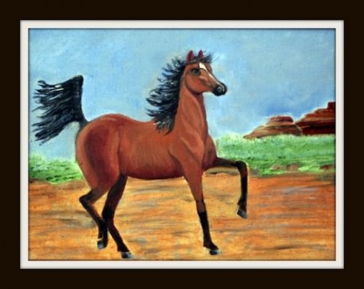 Horse called a blaze of glory