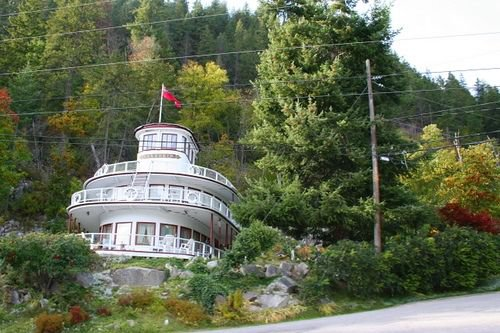 How about a House shaped like a ship? Isn't that unique?