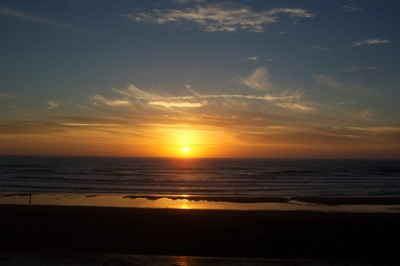 Sunset on the Oregon Coast