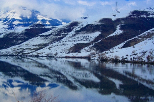 Reflections of Hells Canyon