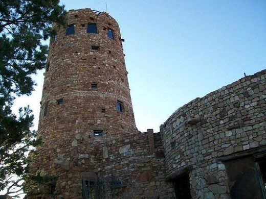 The Watchtower at Desert View Point