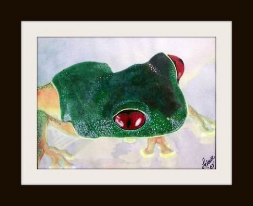 Here's look'n at you by Artist Linda Hoxie