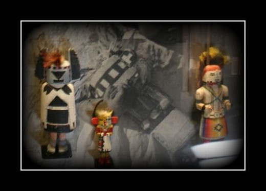 Hopi spirit dolls at the Tusayan Museum