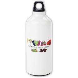 Sheva Minim (seven fruits of Israel) Water Bottle