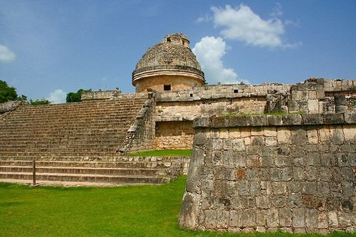 The Observatory at Chichen Itza