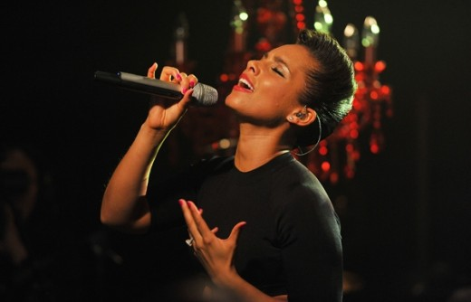 R&B Legend Alicia Keys.