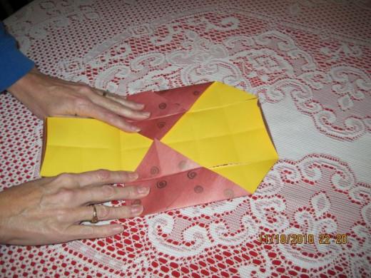 Crease folds