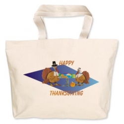 Thanksgiving Turkeys Canvas Bag