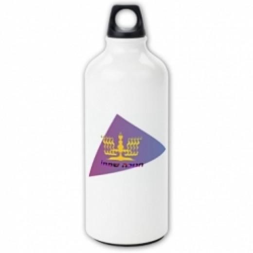 Hanukkia Water Bottle