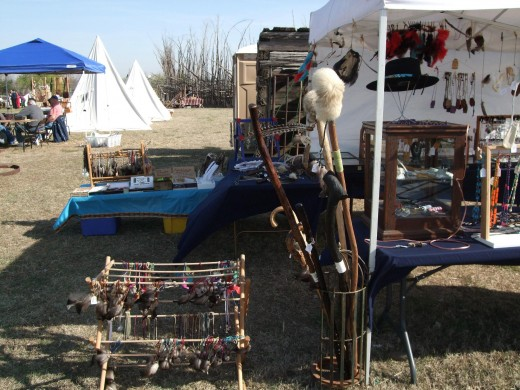 Annlee Cakes Native American Regalia and Crafts Powwow Booth Photo