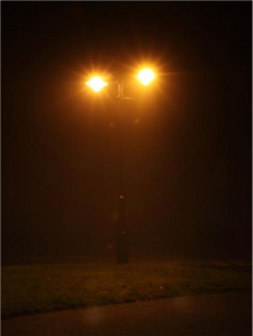 Street Lamp by Petr Kratochvil