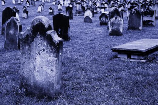 Old Graveyard by Petr Kratochvil