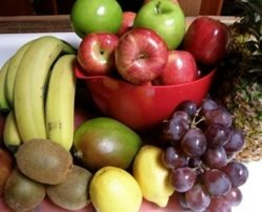 Fruits to juice