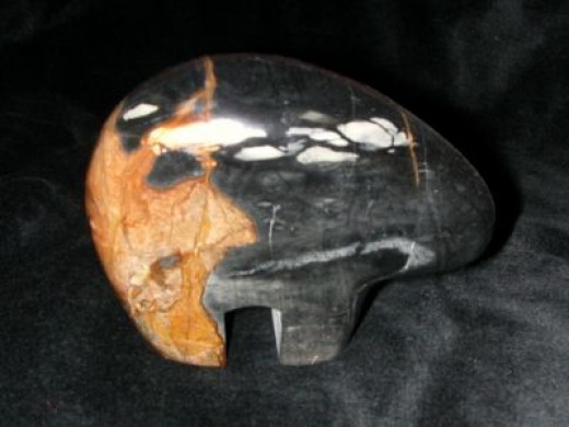 Zuni Fetish - Picasso Marble