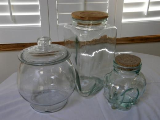 Unique Jars make the terrarium special