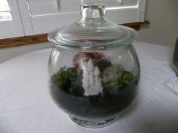 Round jar tarrium