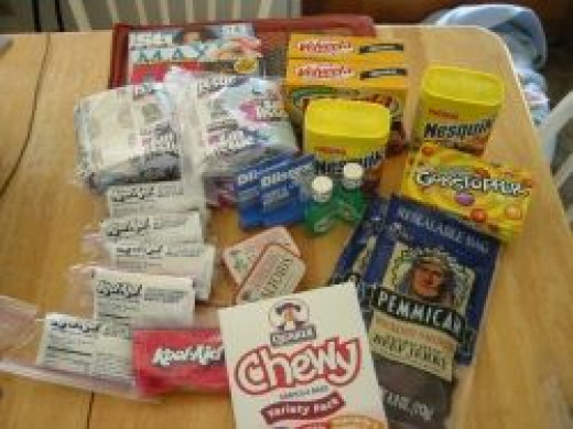 goodie box for soldiers