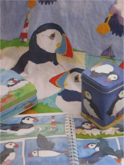 Emma Ball Puffin Items I Couldn't Resist