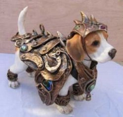 Knight Armor for Dogs, Cats, and Mice: Halloween Costumes for Pets