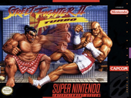 Street Fighter II Turbo: Hyper Fighting - Super Nintendo Entertainment System