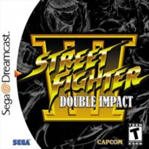Street Fighter III: Double Impact - Dreamcast (SF3 New Generation+SF3 2nd Impact)