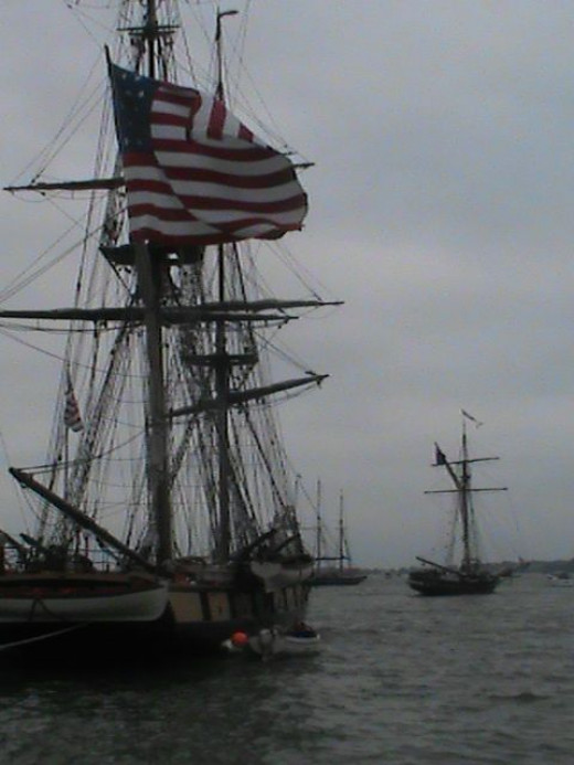 The Flagship Niagara (my home ship) prepares to cast off and head out to the battle site.