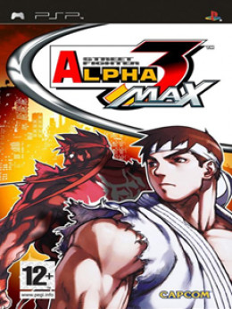 Street Fighter Alpha 3: Max - Playstation Portable
