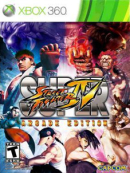 Super Street Fighter IV: Arcade Edition - Xbox 360