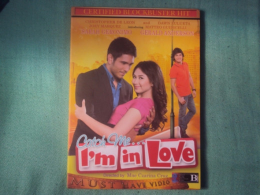 The front view of my dvd copy.