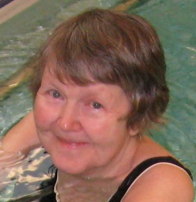 Young Barb in the pool