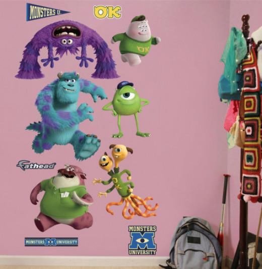 Monsters University Bedroom Décor