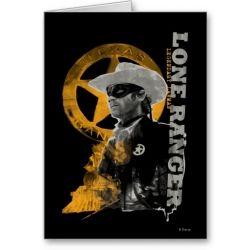 The Lone Ranger Invitations